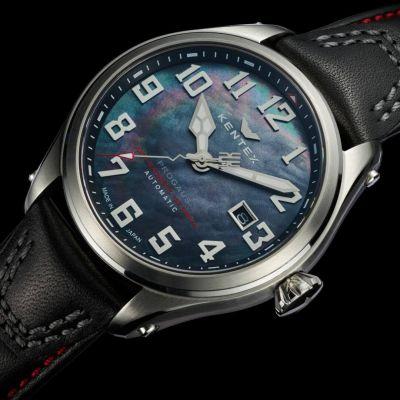 Японские мужские антимагнитные часы Kentex Progaus
